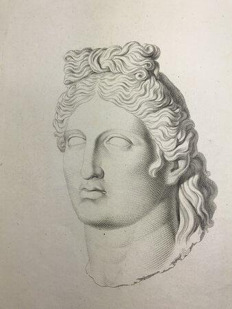 Per le nozze Grimani-Manin. Illustrazione di una greca scultura by VISCONTI, Ennio Quirino