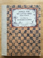 """Songs for my little ones from """"Punch"""" by COWEN, Sir Frederic H."""