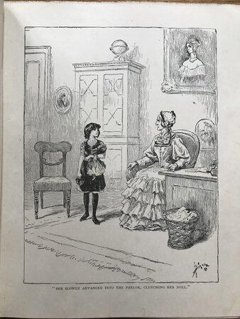 Sara Crewe, or What Happened at Miss Minchin's by HODGSON BURNETT, Frances