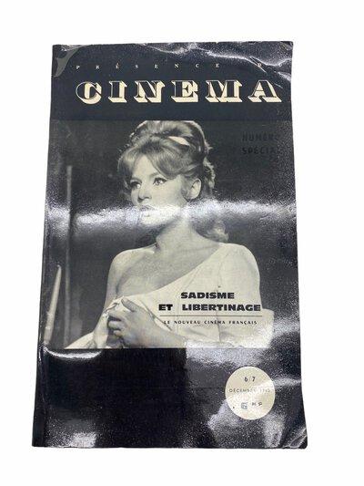 Presence du Cinema - Sadisme et Libertinage 6/7 by CURTELIN, Jean