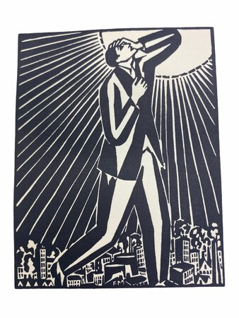 Die Sonne - 63 Holzschnitte by MASEREEL, Frans