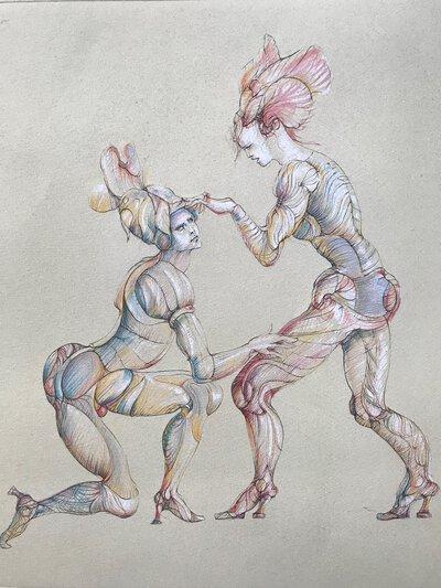 Les Fruits de la Passion by FINI, Leonor
