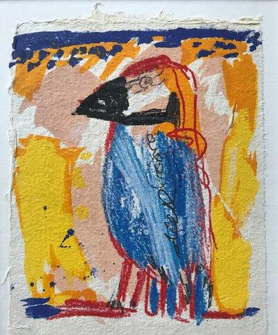 Parrot / Papegaai by SALENTIJN, Kees