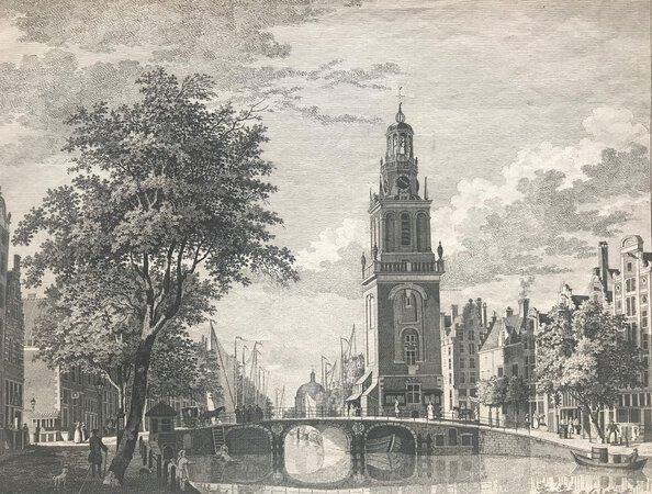 Janroodenpoortstoren, Amsterdam by LIENDER, Paul van