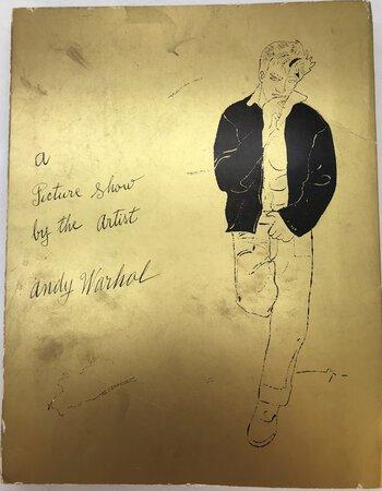 A Picture Show By the Artist Andy Warhol - Zeichnungen 1942-1975 by CRONE, Rainer