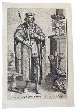 Philippus Austrius Pulcher. 30 Comes. by [ANON]