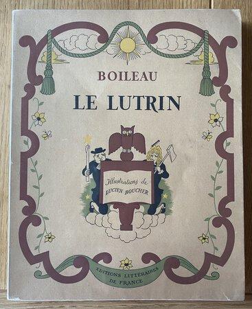 Le Lutrin. by BOILEAU