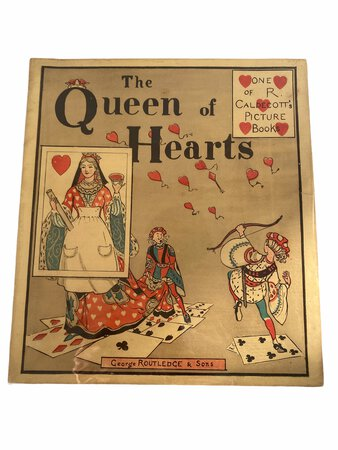 The Queen of Hearts by CALDECOTT, R.