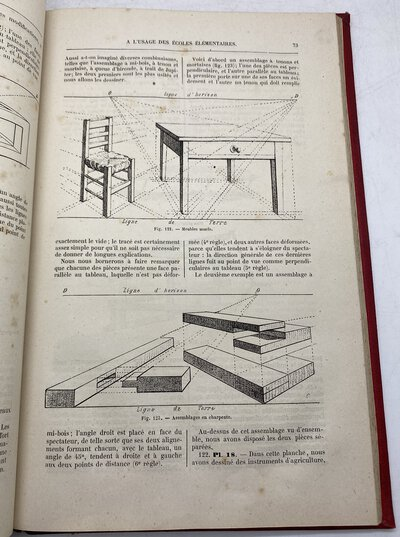 Cours Rationnel de Dessin a l'usage des Ecoles Elementaires by D'HENRIET, L.