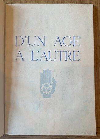D'un Age à l'Autre by LINEPHTY, Maur Guillaume