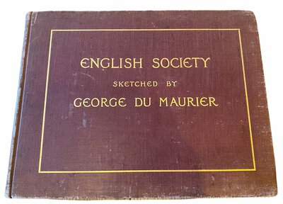 English Society by DU MAURIER, George