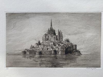 Le Mont Saint-Michel et ses abords. by MAYEUR, Arthur