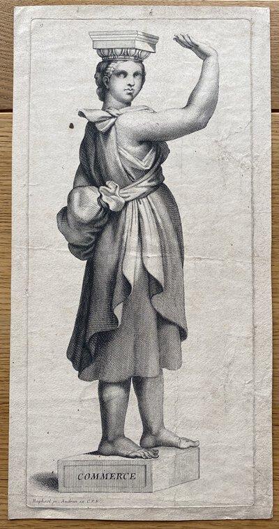 Commerce by URDAN, Gerard - after Raphael