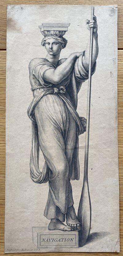 Navigation by URDAN, Gerard - after Raphael