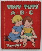 TINY TOTS' A.B.C. Dean's 6d Patent Rag Book Series 1. No. 300. by [WILLIAMS, Richard James.]