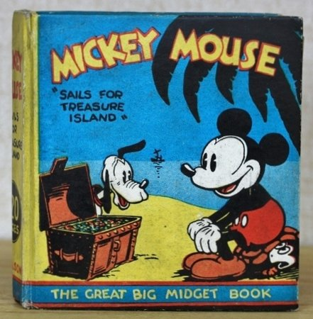 Mickey Mouse Sails for Treasure Island  The Great Big Midget