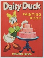 Walt Disney's DAISY DUCK Painting Book. Pictures by The Walt Disney Studio adapted by Dick Moore. by DISNEY, Walt.