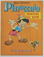 Walt Disney's PINOCCHIO Painting Book. Pictures by The Walt Disney Studio adapted by Bob Grant. by DISNEY, Walt.