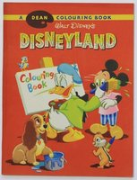 Walt Disney's DISNEYLAND Colouring Book. by DISNEY, Walt.