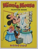 Walt Disney's MINNIE MOUSE Painting Book. Pictures by The Walt Disney Studio adapted by Bob Grant. by DISNEY, Walt.