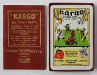 """KARGO"" or Card Golf. Golf at the Card Table."