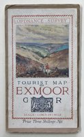 Ordnance Survey TOURIST MAP OF EXMOOR.