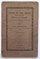 A DRIVE IN THE COACH THROUGH THE STREETS OF LONDON. A Story Founded on Fact. Fourteenth edition. by SHERWOOD, Mrs [Mary Martha Butt].