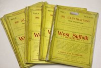 WEST SUFFOLK ILLUSTRATED. 500 Illustrations from Photographs. Giving an account of every town and village in the Western Division of the County... Complete in 14 fortnightly Parts. by BARKER, H. R.