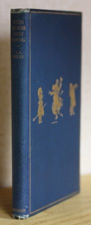 WHEN WE WERE VERY YOUNG. By A. A. Milne With Decorations by Ernest H. Shepard. by MILNE, A. A.