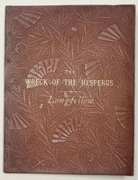 THE WRECK OF THE HESPERUS. Illustrated. by LONGFELLOW, Henry Wadsworth.