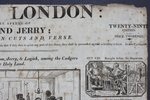 Another image of [Broadside.] LIFE IN LONDON: or, the sprees of Tom and Jerry; attempted in cuts and verse. Twenty-ninth edition. Price Twopence.