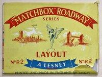 """MATCHBOX"" ROADWAY LAYOUT. Series. No. R2. [Soho, London.]"