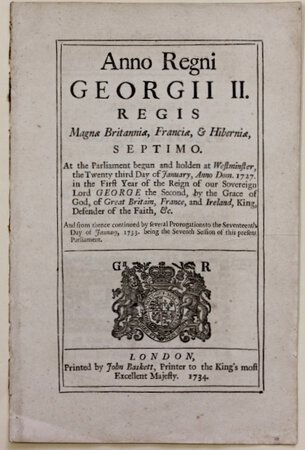 An Act for the more effectual preventing the clandestine Importation of foreign Hops into Great Britain and Ireland, and to prevent the adulterating or sophisticating of Hops, to alter the Colour or Scent thereof.