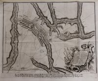Plan of the Situation where the Battle of Ramillies was fought May ye 23rd 1706: Designed upon the Spot by G.L. Mosburger, Officer in Geneal Dopf's Regiment of Dragoons. For Mr Tindal's Continuation of Mr Rapin's History of England.