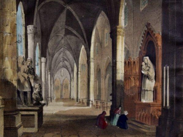 G. W.'s Dioramic Views, No. 1. Church of St. Juan.