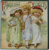 """FAMILIAR OBJECTS"". A Game for the Little Ones. Nister number 467. by [NISTER, Ernest.]"