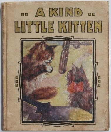 A KIND LITTLE KITTEN. by GOVEY, Llillian.