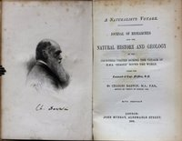 A NATURALIST'S VOYAGE. Journal of researches into the Natural History and Geology of the countries visited during the voyage of H.M.S. 'Beagle' round the world. Under the command of Capt. Fitzroy, R.N. By Charles Darwin, M.A., F.R.S. With portrait. by DARWIN, Charles.