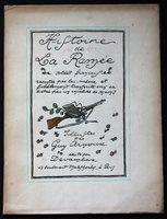 HISTOIRE DE LA RAMEE Soldat Francais racontee par lui-meme et fidelement transcrite sous sa dictee par un invalide de ses amis. Illustrations par Guy Arnoux. by ARNOUX, Guy.