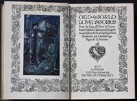 OLD-WORLD LOVE STORIES From the Lays of Marie de France & other Mediaeval Romances & legends translated from the French by Eugene Mason. Illustrated and Decorated by Reginal L. Knowles. by KNOWLES, Reginald L.