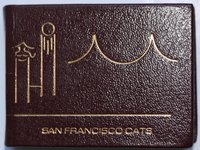 SAN FRANCISCO CATS. Nine Lives with Whiskers. by HIEMSTRA, Marvin R.