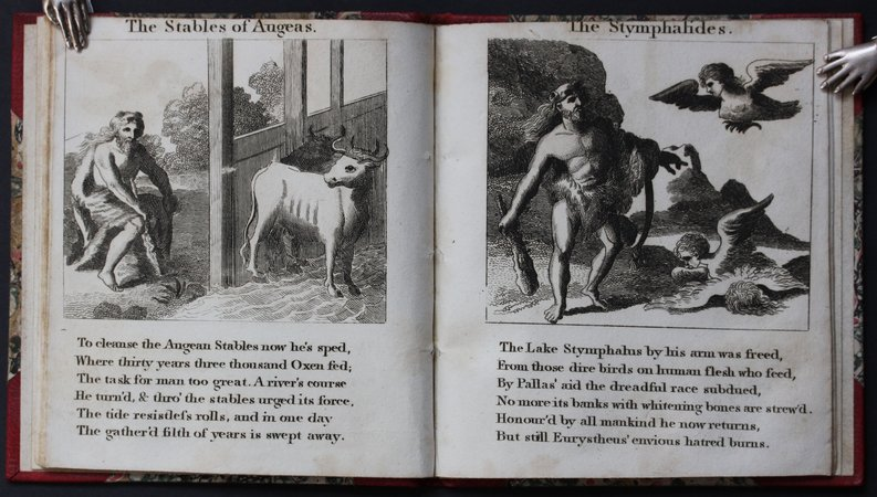 THE TWELVE LABOURS OF HERCULES, Son of Jupiter and Alcmena.
