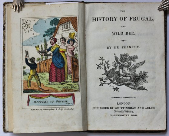 THE HISTORY OF FRUGAL, THE WILD BEE. by FRANKLY, Mr.
