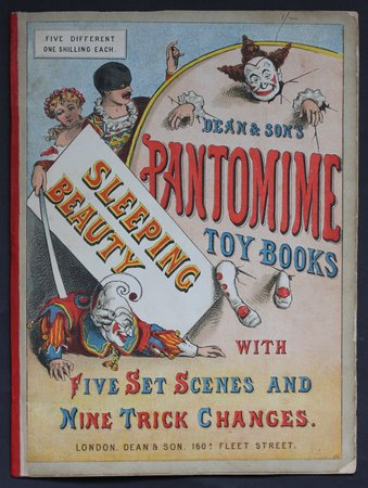 SLEEPING BEAUTY. Dean & Son's Pantomime Toy Books. With five Set Scenes and Nine Trick Changes.