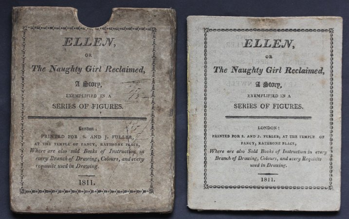 ELLEN, or The Naughty Girl Reclaimed, A Story, exemplified in a series of figures.