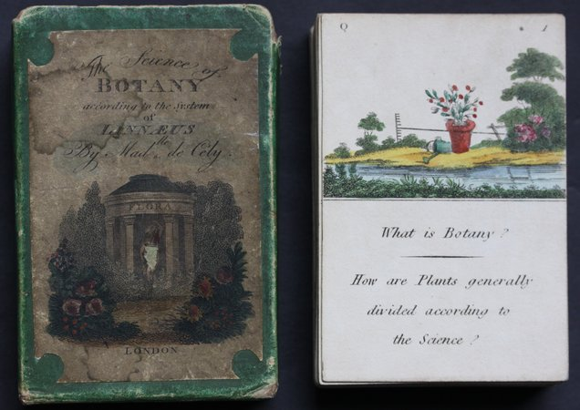 THE SCIENCE OF BOTANY according to the System of Linnaeus. By Madlle de Cely. by de Cely, Madlle.