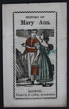 HISTORY OF MARY ANN.