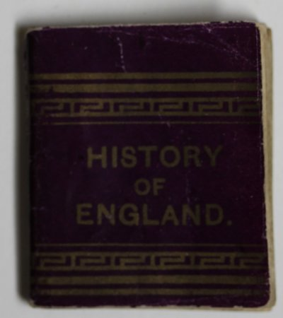MINIATURE HISTORY OF ENGLAND.