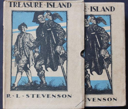 TREASURE ISLAND.  Illustrated by Rowland Hilder. by STEVENSON, Robert Louis.