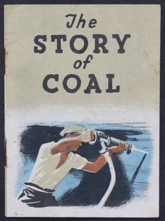 THE STORY OF COAL.  A Bantam Picture Book No. 34.  Illustrated by Clifford Rowe.